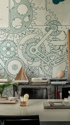 Steampunk by Wall and Deco