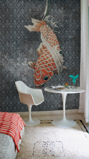 Tangerine by Wall and Deco