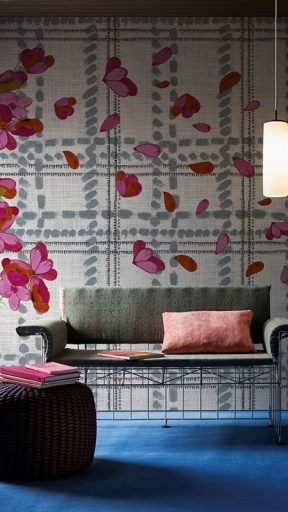 Scottish Blumen by Wall and Deco