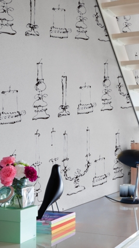 DRAWING CANDLES by Wall and Deco