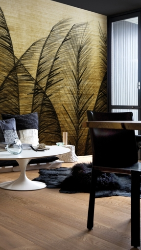 GOLDEN WIND by Wall and Deco