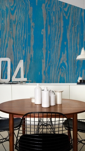 BLUE ESSENCE by Wall and Deco