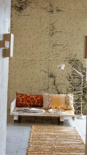 LOSTING MAP by Wall and Deco