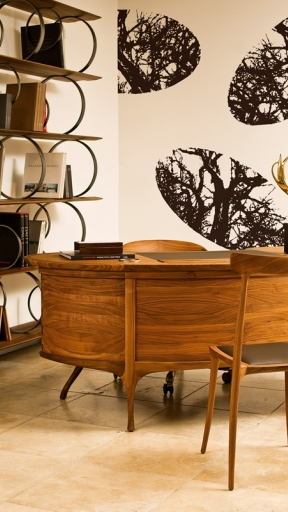 ELLIPTICAL FOREST by Wall and Deco