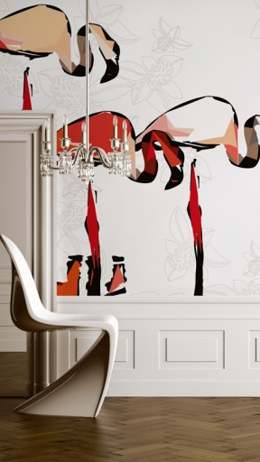 FLAMINGO DADA by Wall and Deco