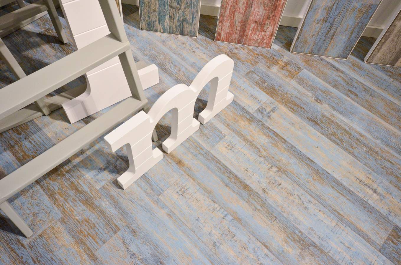 Washed Out Wood Flooring