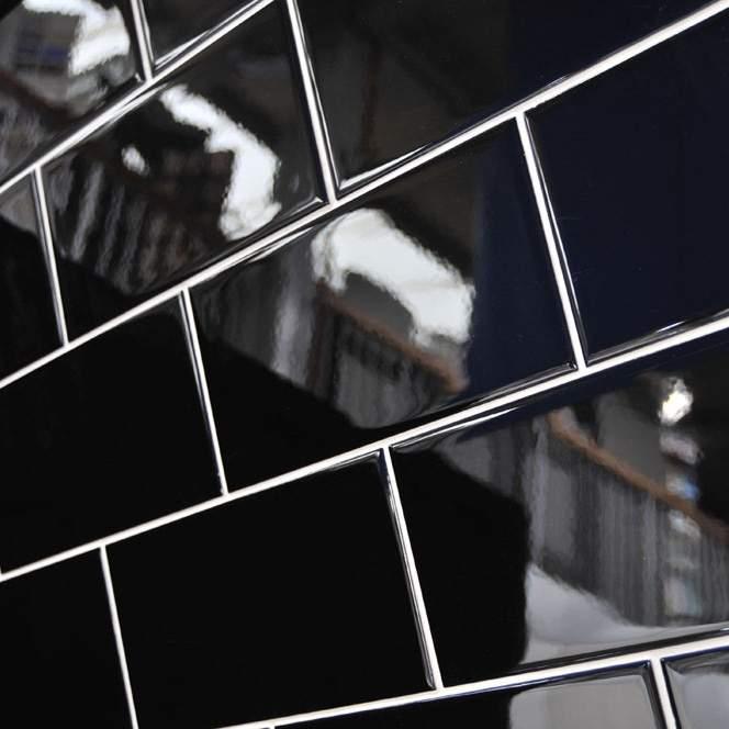 Flat Black Sunway Tiles
