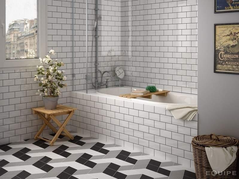 Flat White Subway Tiles
