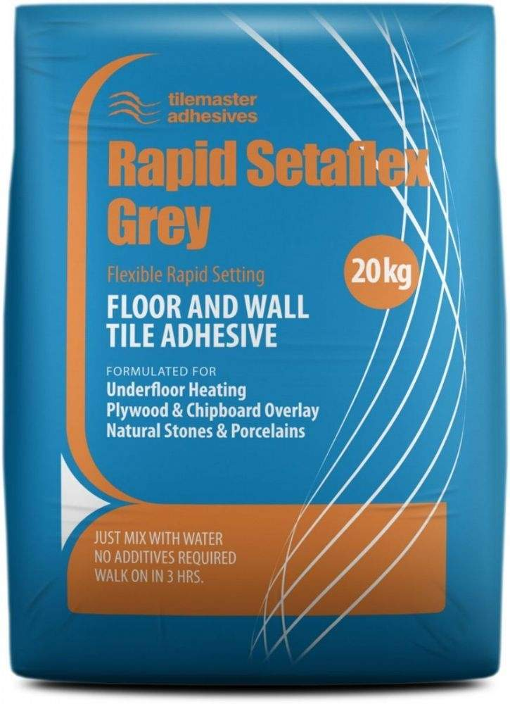 Setaflex Rapid Set Flexible Tile Adhesive