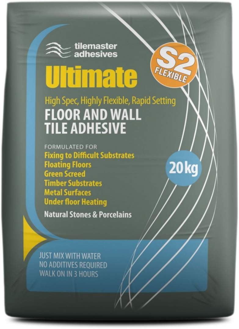 Tile Adhesive for Metal and other Surfaces