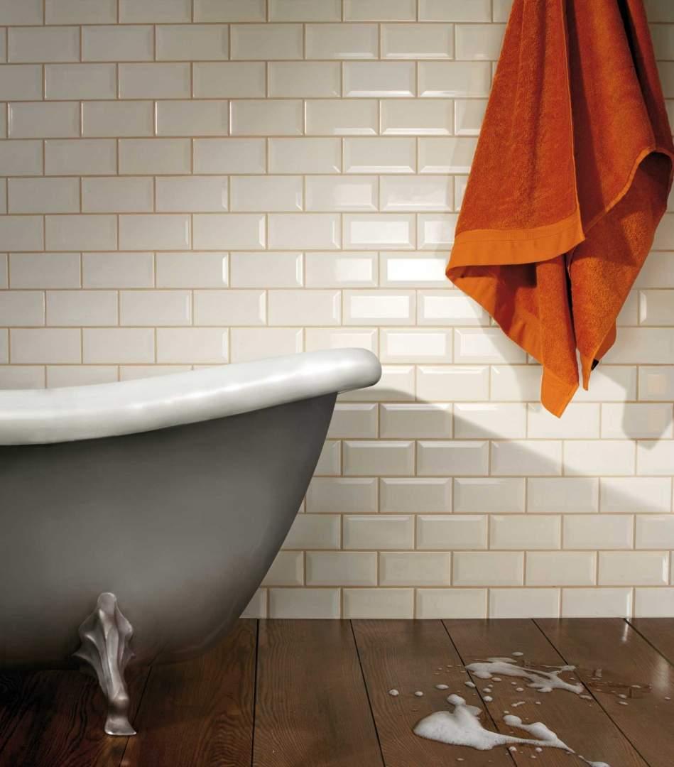 Cream Metro Tiles 7.5x15