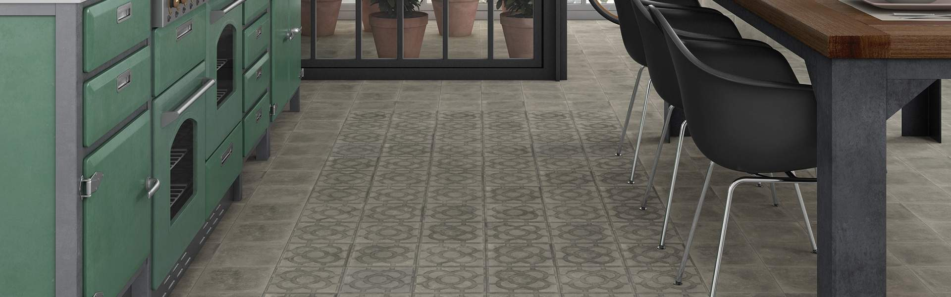 Small Grey Antislip Tiles