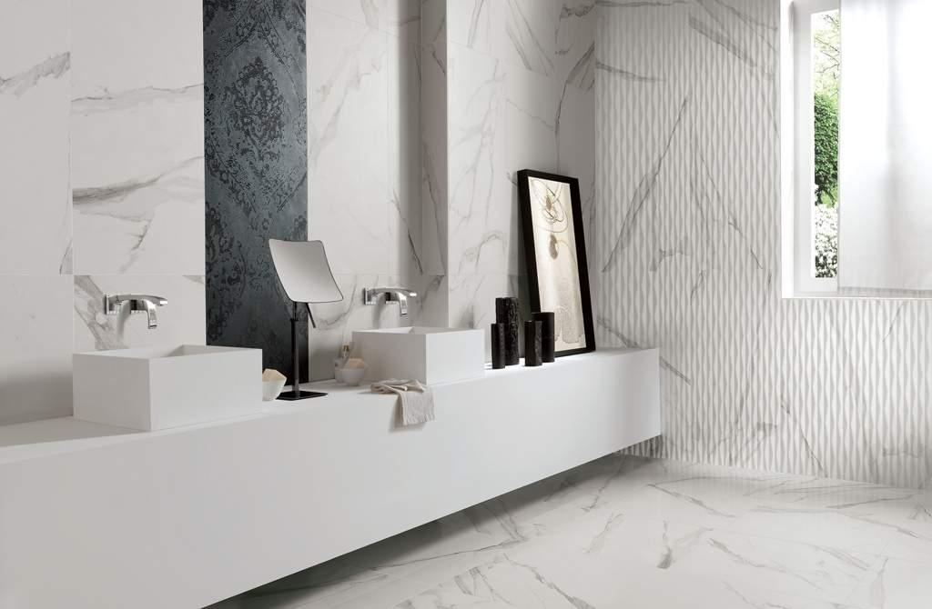 Matt Marble Floor and Wall Tiles - Italian Tile and Stone