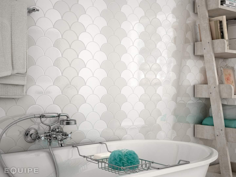 Fan Shaped Tiles Irrland