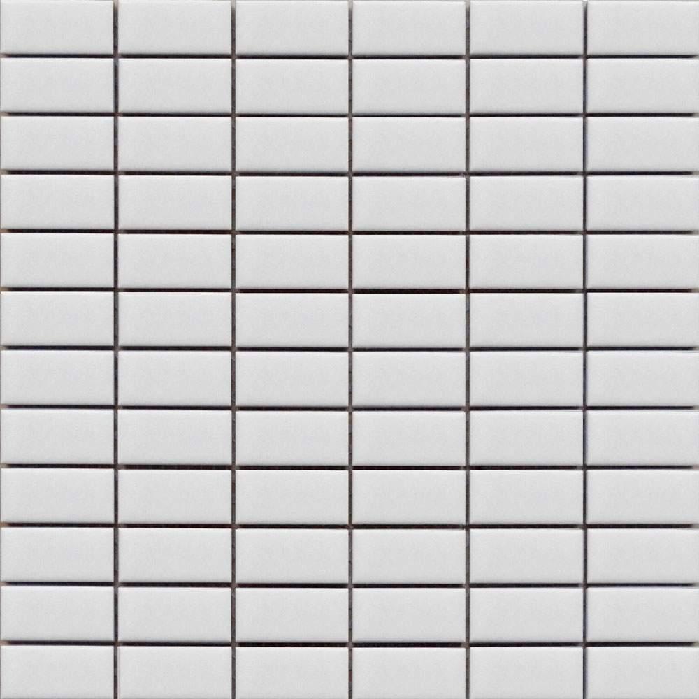 White Rectangle Mosaic Tiles Dublin
