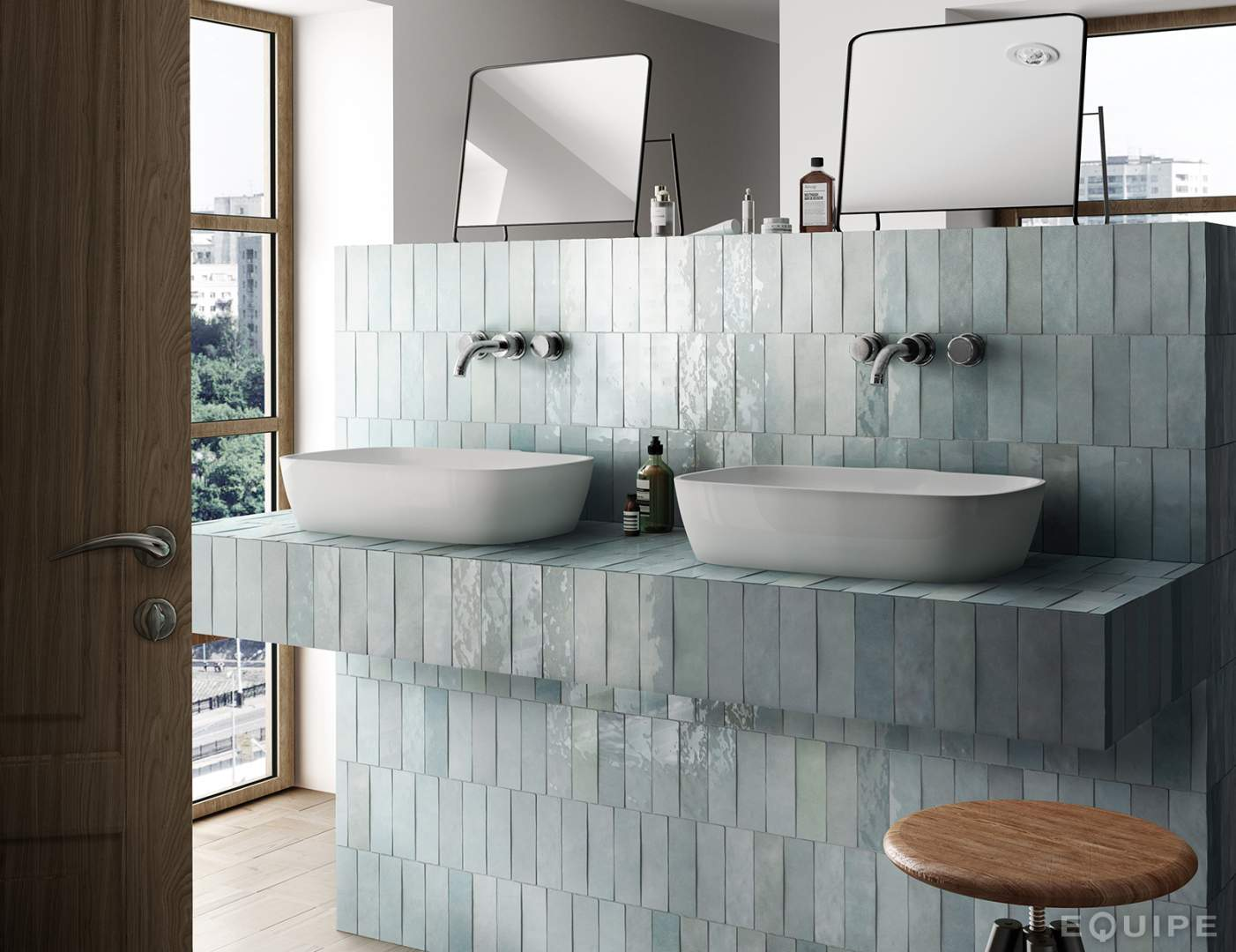 Artisan Metro Tiles Dublin Ireland Stone Bathroom