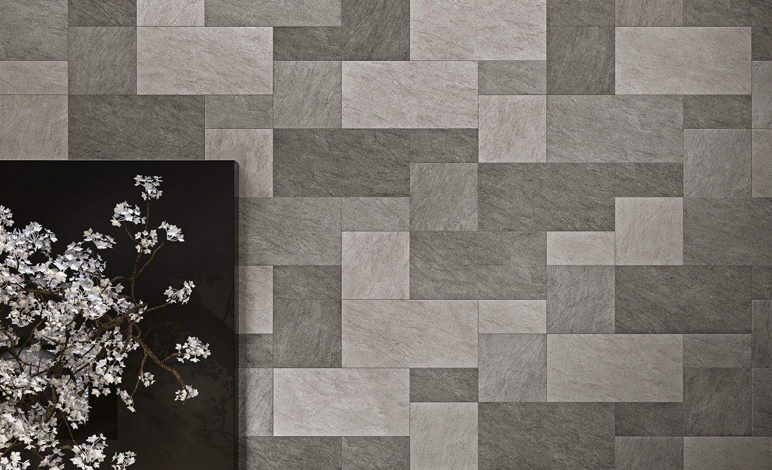 Basalt Tiles Lobby Floor - Italian Tile and Stone Dublin