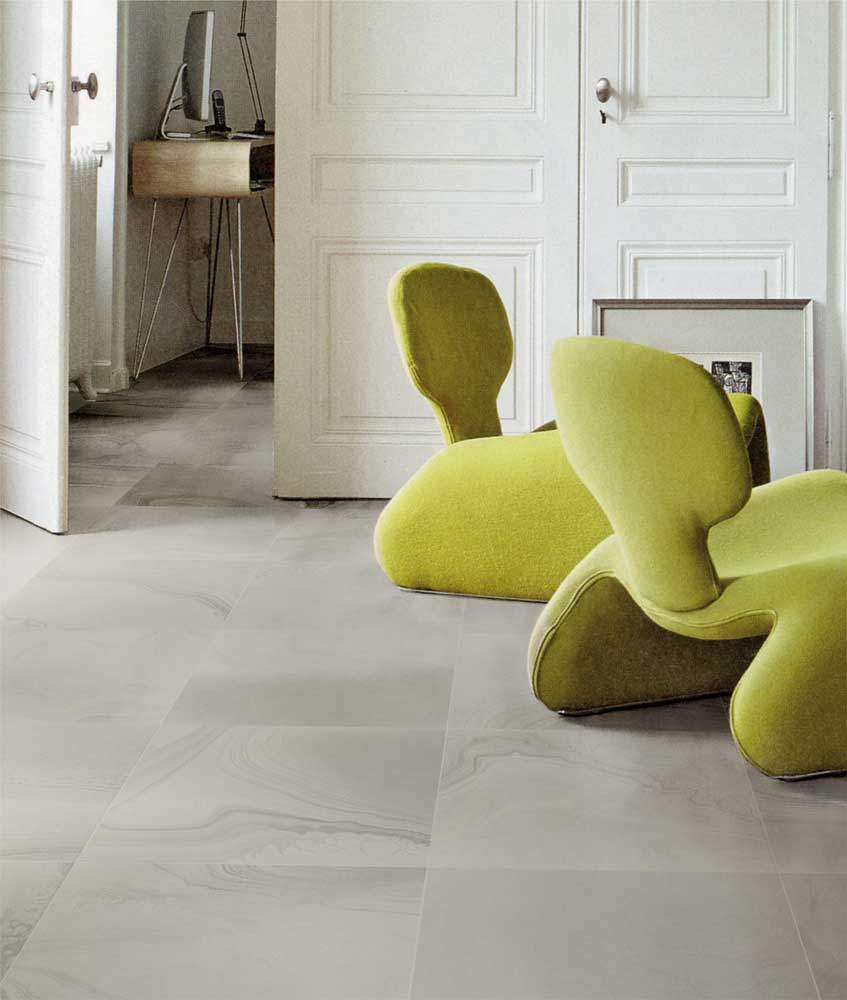 Grey Stone Effect Porcelain Tiles