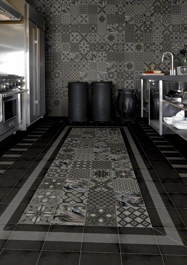 Encaustic tiles the 1900 victorian tile collection for Carrelage 90x90 gris