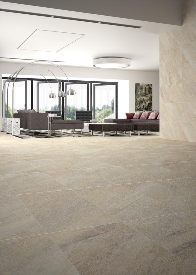 Warm Coloured Slate Style Floor Tiles from Italian Tile and Stone Dublin