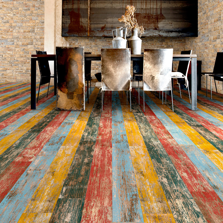 Vintage Colourful Flooring From Italian Tile And Stone Dublin