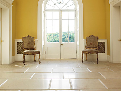 Stunning Round Edged Corithina Sandstone from Italian Tile and Stone Dublin