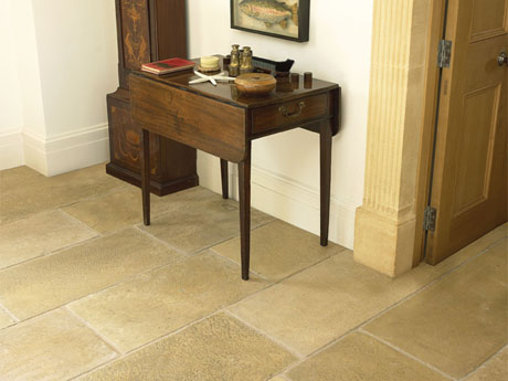 Gold Limestone Tiles Ireland. Brushed Limestone Flooring from Tiles.ie Dublin
