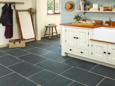 Buy Rustic Black Slate Floor Tiles In Ireland From