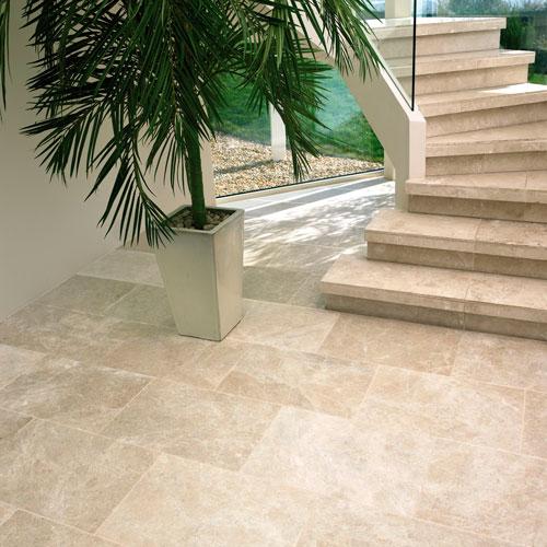Sumptuous Santa Anna Beige Limestone Tiles from Italian Tile and Stone Dublin