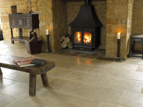 Exquisite St Benedict Antique French Limestone Tiles Exclusive to Italian Tile and Stone Dublin