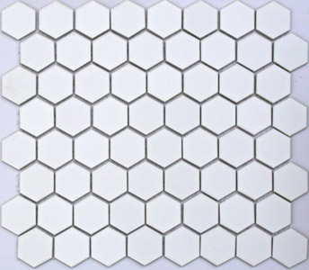 Buy White Hexagonal Tiles in Dublin at Italian Tile and Stone Terenure