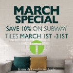 Sale on Subway Tiles Dublin