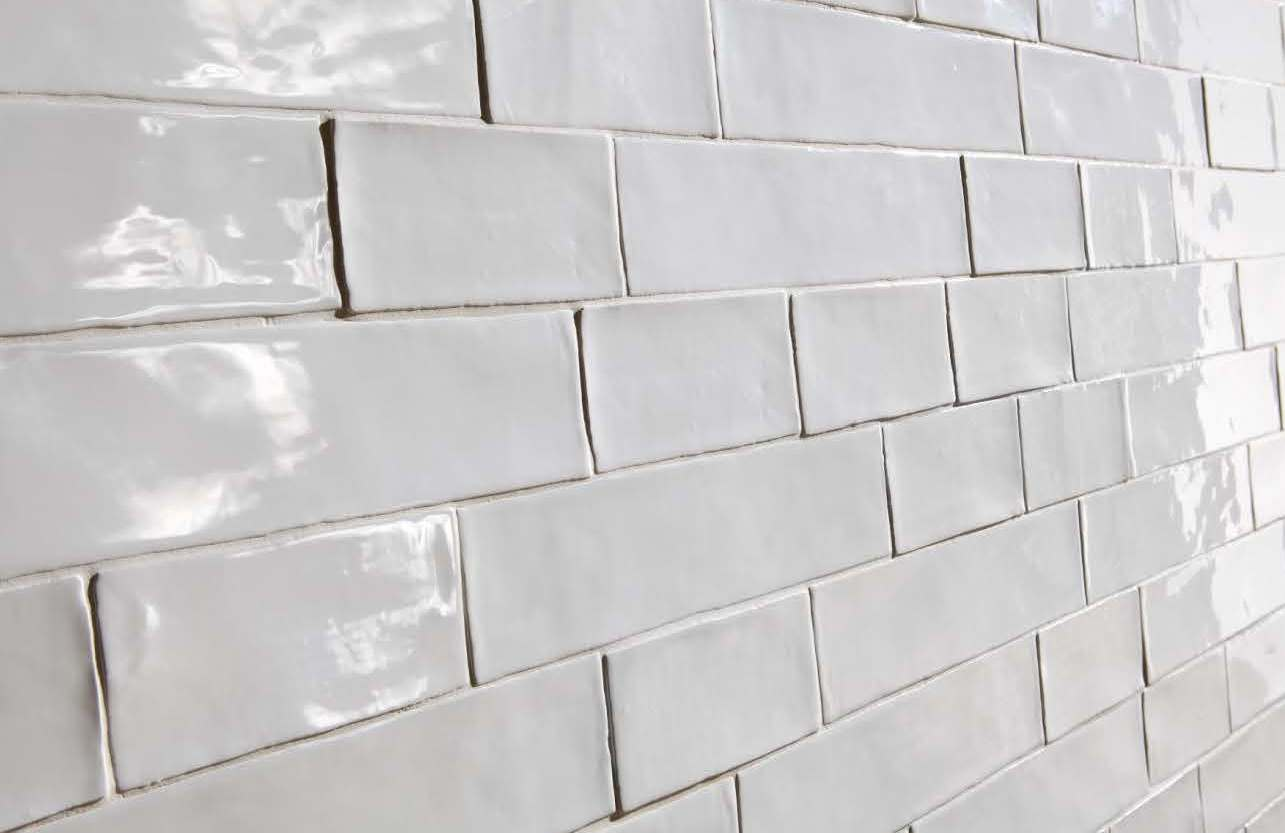 Vintage hammered subway tiles italian tile stone studio White subway tile
