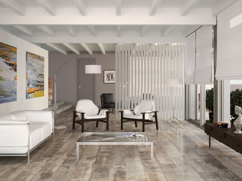 Fantastic distressed wood floor boards available from - Ceramicos imitacion madera ...