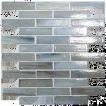 Distressed Glass Brick Tiles