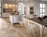 Traditional Flagstone Tiles Kitchen