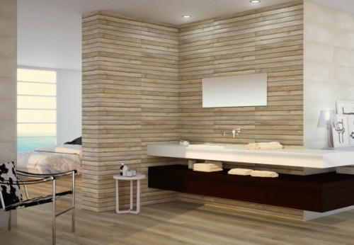 Wooden Wall Tile Panelling