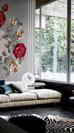 Canvas Boquet by Wall and Deco