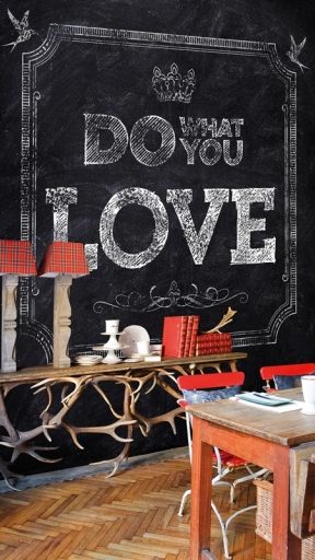 DO WHAT YOU LOVE by Wall and Deco