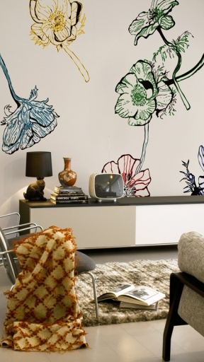 FLOWERIZED by Wall and Deco