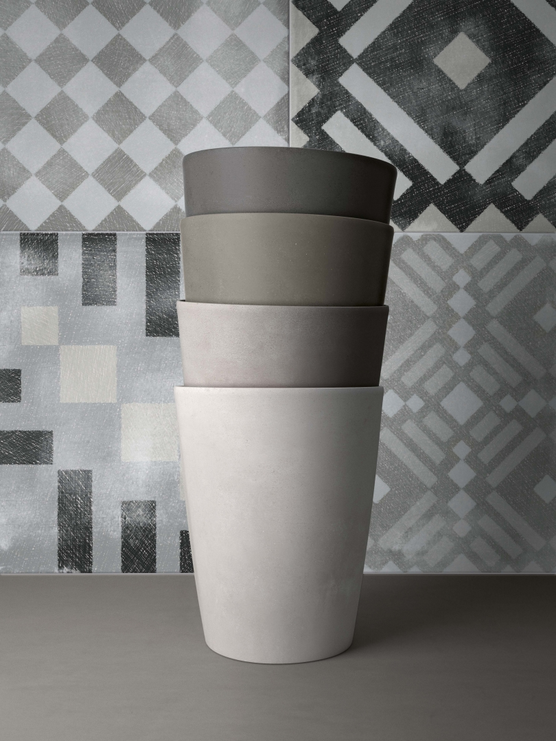 Driven to Abstraction Patterned Tiles - The Abstract Collection Ireland