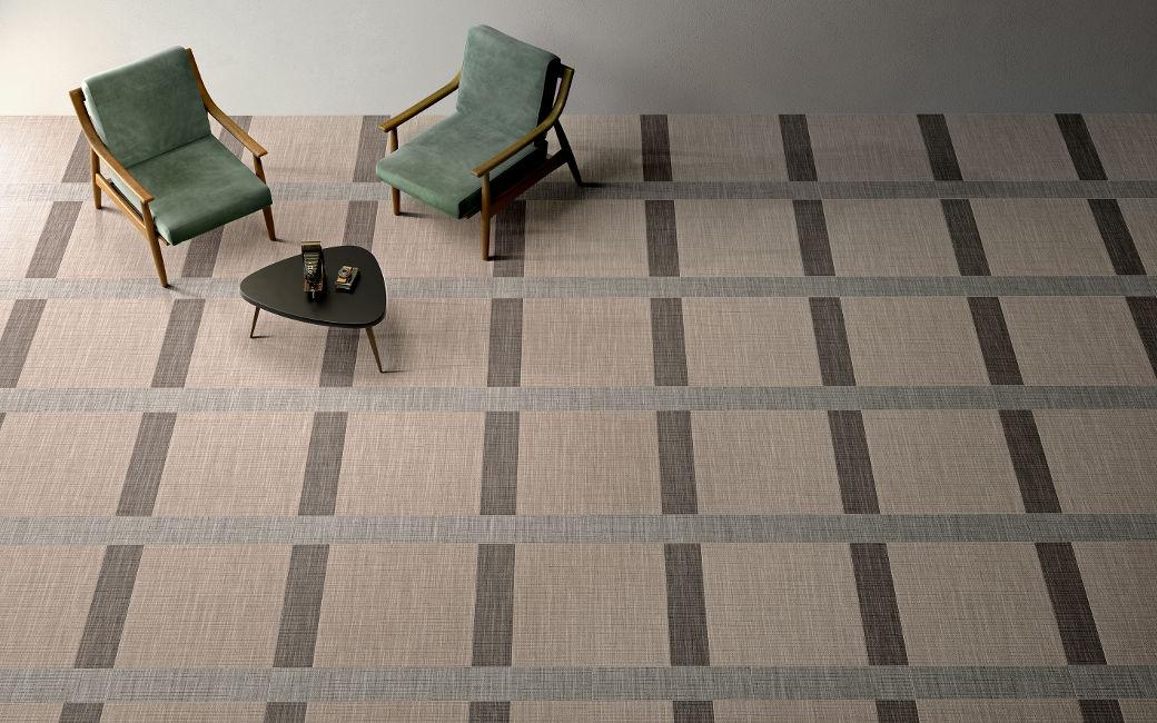 Grid Fabric Tiles
